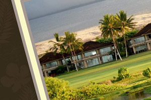 Hualalai Luxury Villa Rental web design