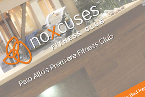 NoXcuses Fitness Club web design